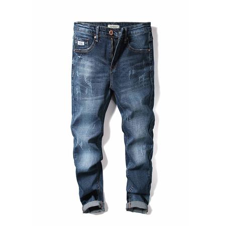 19125潮流男士牛仔裤