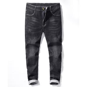 19209修身版型时尚牛仔裤
