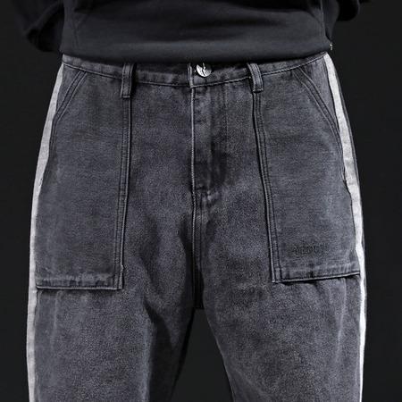 19222日系宽松哈伦裤