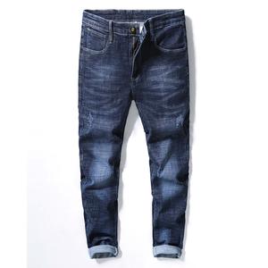 19205修身版型时尚牛仔裤