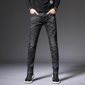 19206修身版型时尚牛仔裤