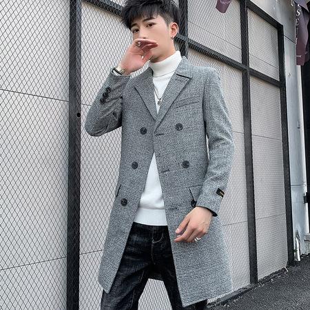 1963 2019时尚修身版型大衣