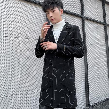 1965 2019时尚修身版型大衣