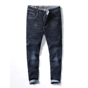 19207修身版型时尚牛仔裤