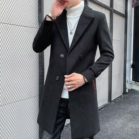1966 2019时尚修身版型大衣
