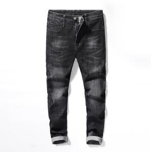 19201修身版型时尚牛仔裤
